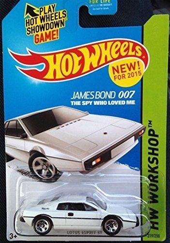 James Bond 007 the spy who loved me Hot wheels new for 2015 Lotus Esprit S1 hw workshop 219/250 by Hot Wheels @ niftywarehouse.com #NiftyWarehouse #Bond #JamesBond #Movies #Books #Spy #SecretAgent #007