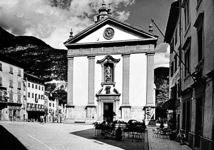 La chiesa di santa Maria Immaccolata, a Longarone