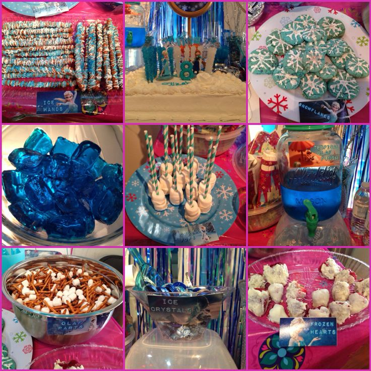 Frozen Theme Birthday Party! Everything For My Daughter