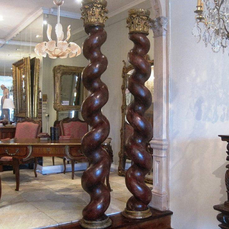 Pair of Italian Columns
