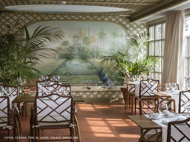 Restaurante Winter Garden.