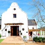 Tasting room at Diemersdal, Durbanville