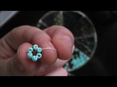 Pulsera punto oruga/ Chenille stitch bracelet - YouTube