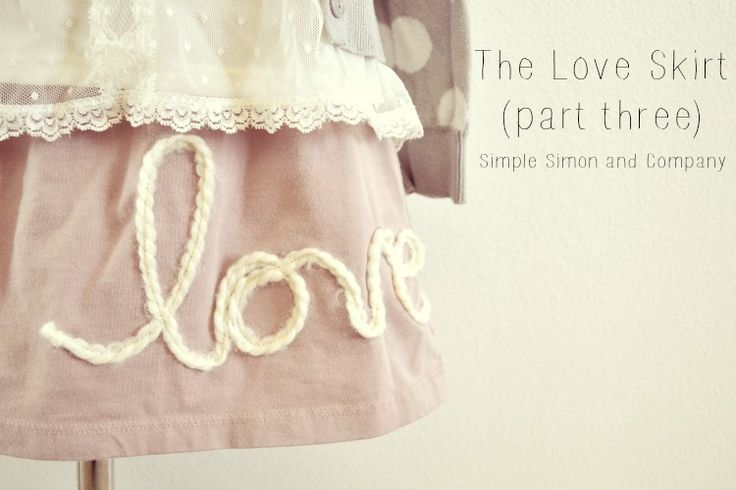 Another Love Skirt (along with the how to) - Simple Simon and Company
