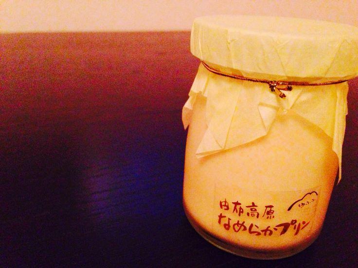 Yufuin pudding♡