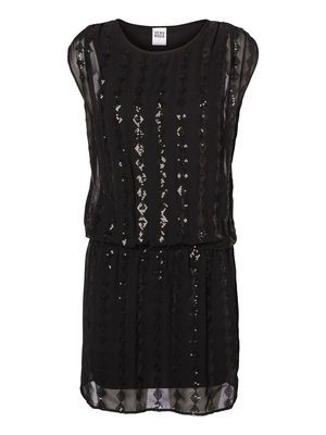 Party Perfect! SHELLY S/L SHORT DRESS #veromoda @VERO MODA