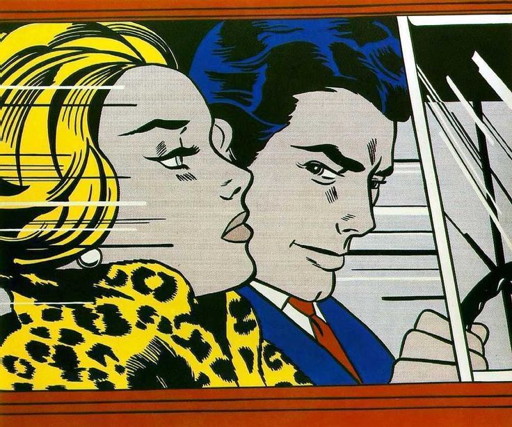 nastygal minkpink roy lichtenstein in the car primary colours big hair bold brows leopard. Black Bedroom Furniture Sets. Home Design Ideas