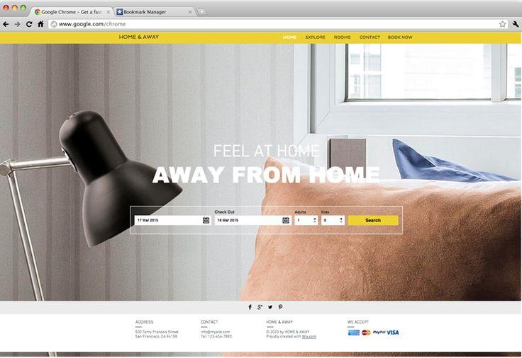 City Apartment Rental | Website Template