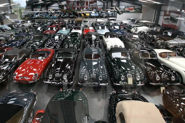 Jaguar buys world's largest collection of British cars  tred.com