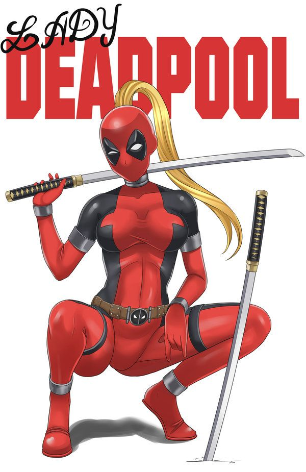 #Lady #Deadpool #Fan #Art. (Lady DEadPool) By: NeonBlast. (THE * 5 * STÅR * ÅWARD * OF: * AW YEAH, IT'S MAJOR ÅWESOMENESS!!!™) ÅÅÅ+