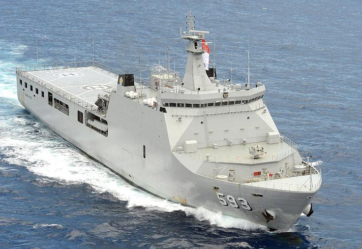Picture of the KRI Banda Aceh (LPD-593)