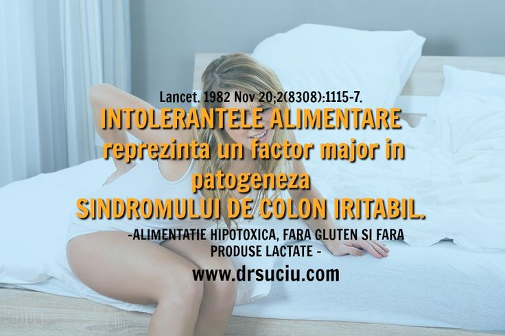 Photo Intolerantele alimentare si colonul iritabil - drsuciu