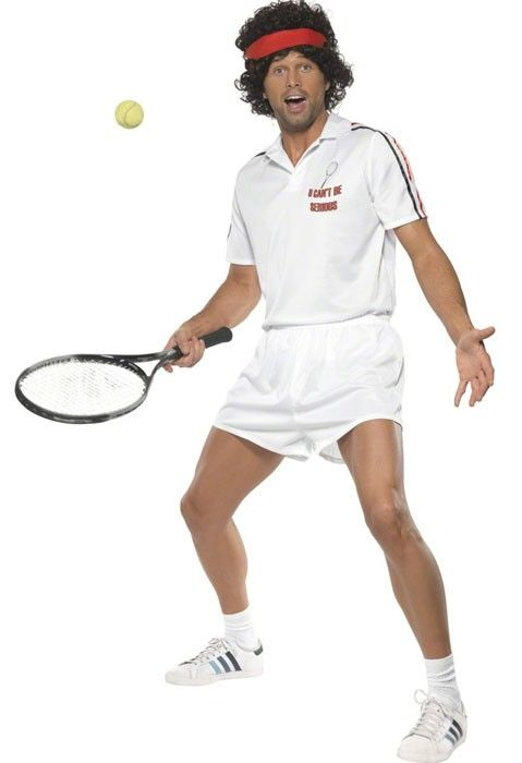 <p>Hit+the+court+dressed+like+John+McEnroe+in+this+funny+men's+tennis+player+costume+by+Smiffy's.+'U+Can't+Be+Serious'+about+wearing+this+McEnroe+tennis+costume,+but+we+are+-+because+it's+perfect+for+your+famous+people+costume+themed+party!+See+below+for+full+description+and+size+details.</p>