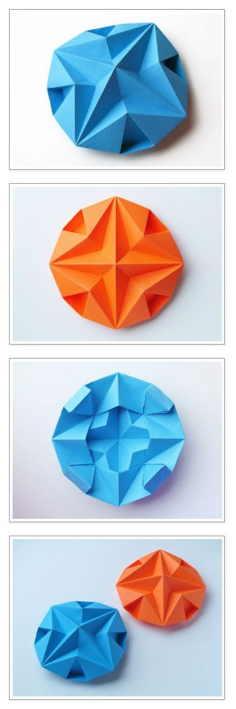 Stella dodecagonale – Dodecagonal Star. Origami, from a sheet of copy paper, 21 x 21 cm. Designed and folded by Francesco Guarnieri, July 2013. Instructions, Crease Pattern: http://guarnieri-origami.blogspot.it/2013/07/stella-dodecagonale.html