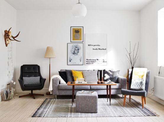 vintage estilo muebles diseño danes 50 60 mid century modern estilo danés de los 50  60 estilo Mad Men diseño danés muebles Decorar con amar...