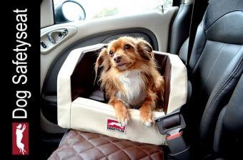 DOG SAFETYSEAT LX Hunde-Autositz, Sicherheits- Hundesitz für das Auto, Hundesicherheit, Hundetransport Sicherheit, Hygienisch