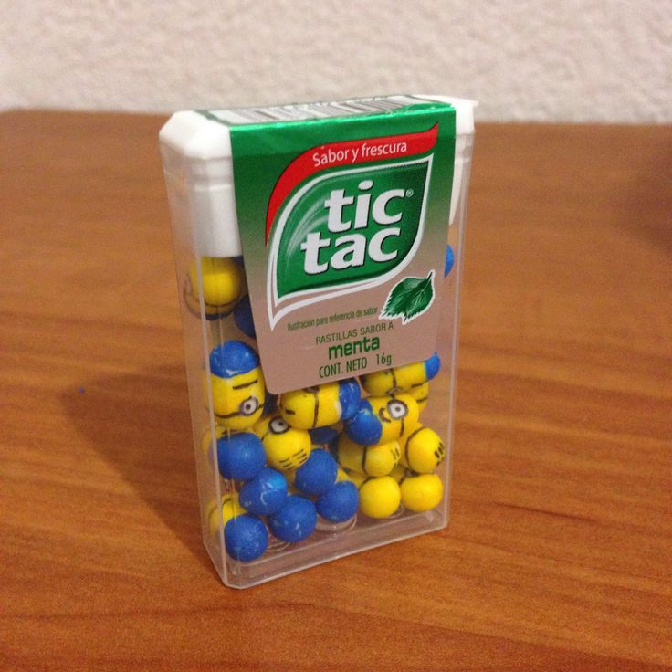 How to make your own tic tac minions lets be crafty