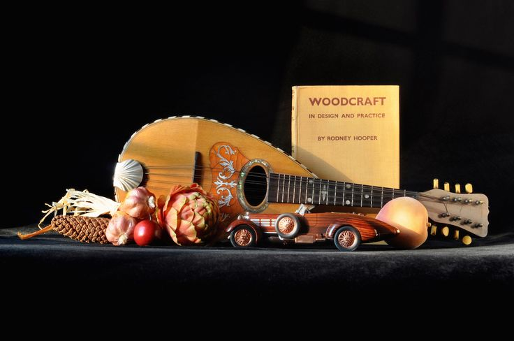 """Royal Street Mandolin with 1949 Mercury Wagon,"" Archival Digital Color Print, 11 x 14 inches"