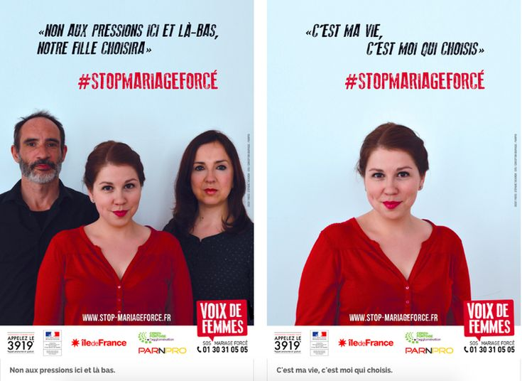 Libération. 17.07.15 Mariage forcé : «Je ne peux pas vivre avec un homme que je n'aime pas» par  Elsa Maudet