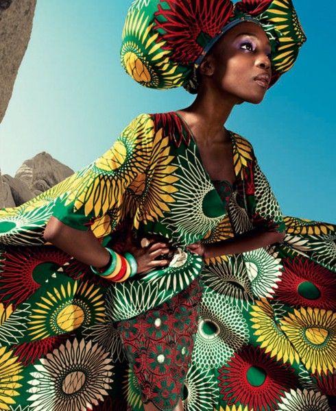 As Estampas Africanas da Vlisco   Design Innova