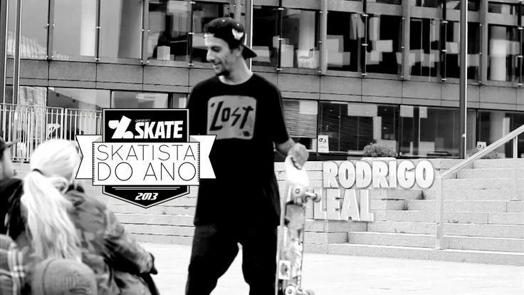 Rodrigo Leal - Skatista do Ano