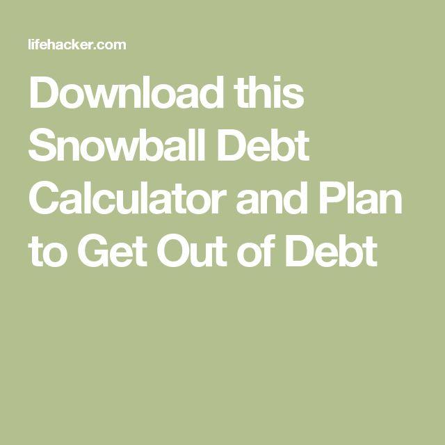 Best 25+ Debt snowball spreadsheet ideas on Pinterest Coupon - debt payoff calculator