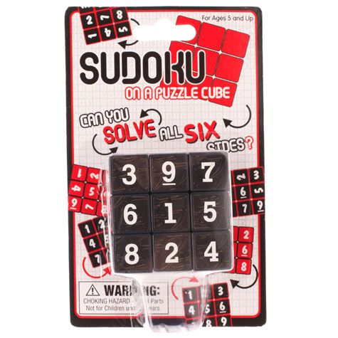 GET IT NOW Sudoku Cube from City Beach Australia