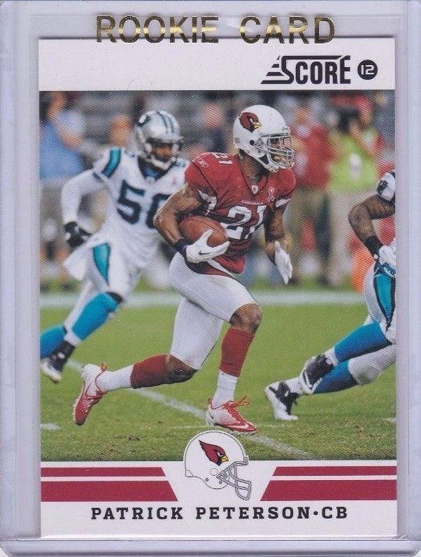 2012 Score Patrick Peterson Arizona Cardinals No 78 Football Card Free Shipping!