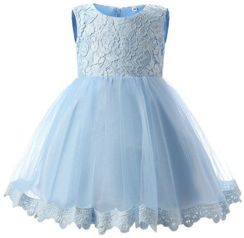 Blue Lace Bow Dress - A beautiful lace dress for your baby or little girl - ideal for any occasion, or even a little flower girl #bebelleboutiqueuk #girl #girlsclothing #boutique #shopping #sunflower #summer #baby #babygirl #babyboy #babyshop #babyshower #discount #bargain