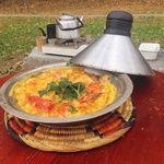 ジャジューカ - 料理写真:ベルベルオムレツ(モロッコのトマトオムレツ)