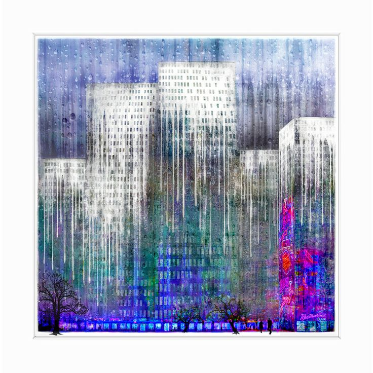 "Saatchi Online Artist: Liz Ravn; Digital 2013 Photography ""Through a Dripping Wet Window - Limited Edition"""