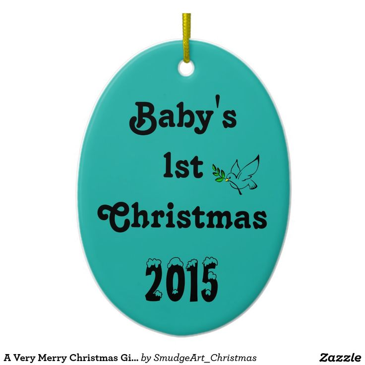 A Very Merry Christmas Gift Collection Double-Sided Oval Ceramic Christmas Ornament