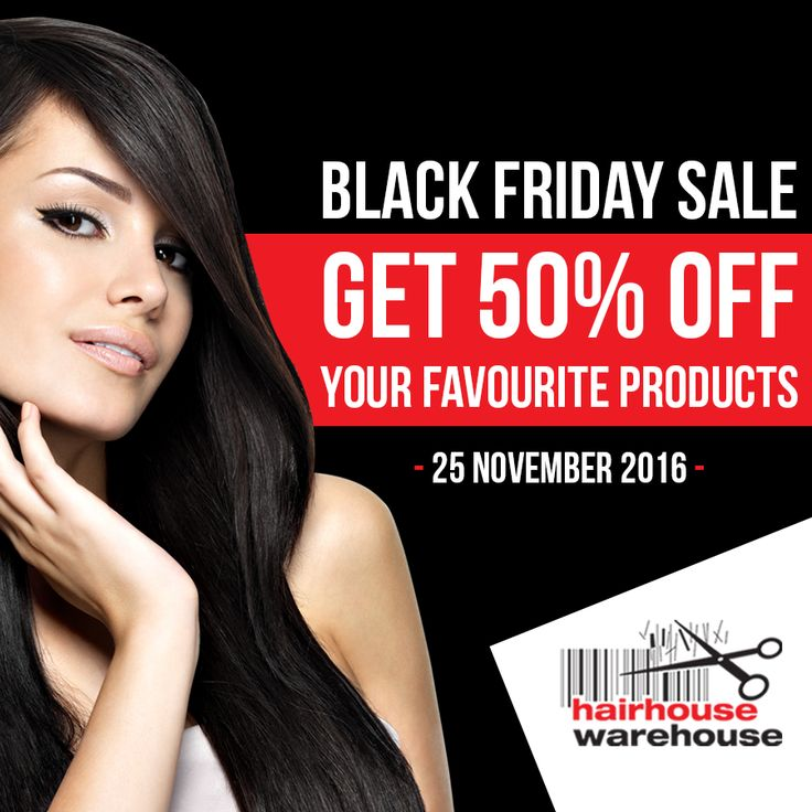 Black Friday specials are only available for our loyal fans. You're part of our exclusive group with access to this one day 50% off sale! Don't miss it! Click here: https://www.hairhousewarehouse.co.za/clearance?utm_source=facebook&utm_medium=social&utm_campaign=boosted-post&utm_content=facebook_social_boosted-post_black-friday