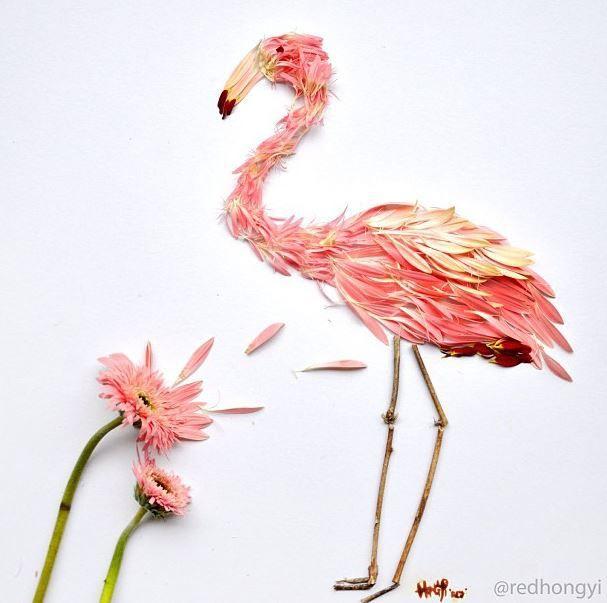 Flamingo by Red Hong Yi