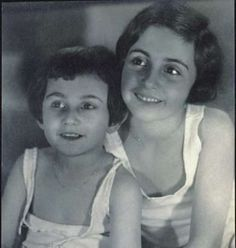 Anne Frank And Older Sister, Margot Betti Frank