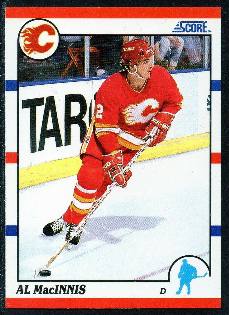 #5 Al MacInnis (1990-1991) - Score Ice Hockey card. New on http://colnect.com/sports_cards