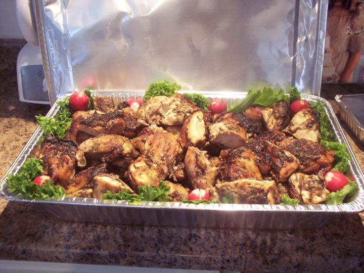 Caribbean Dinner Party Menu Ideas Part - 44: Jamaican Jerk Chicken I Make For My Friend Party. Taco Bar PartyCarribean PartyCaribbean  FoodJerk ChickenChicken RecipesJamaican ...