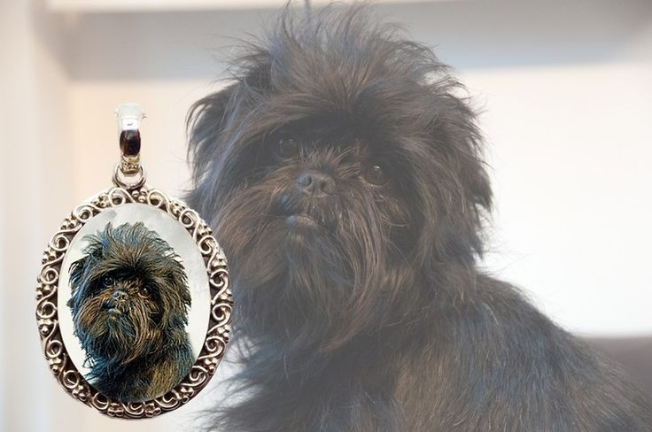 Affenpinscher Necklace.  This is photo jewelry and I make them using your dogs photo so it is very special! #affenpinscher #simplyitalydesigns #doglovers #doglovergifts #dogs #photojewelry #photokeepsake #keepsake #dogproducts #doggifts