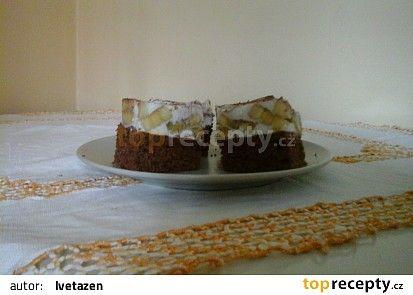 Banánový zákusek s mascarpone recept - TopRecepty.cz