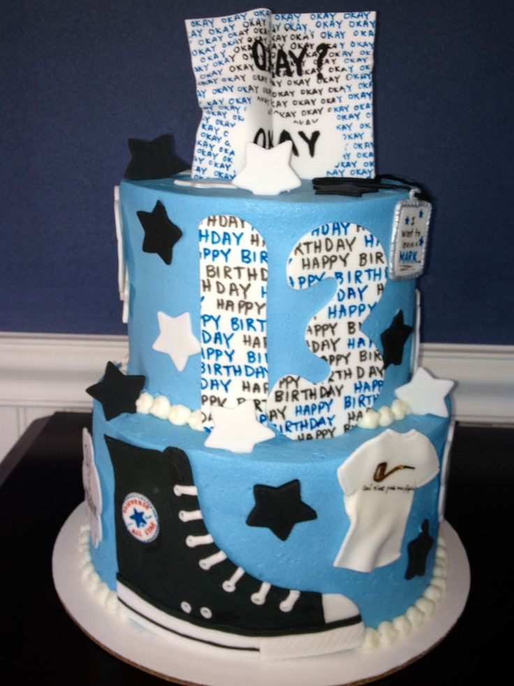 The Fault In Our Stars by John Green...inspired cake