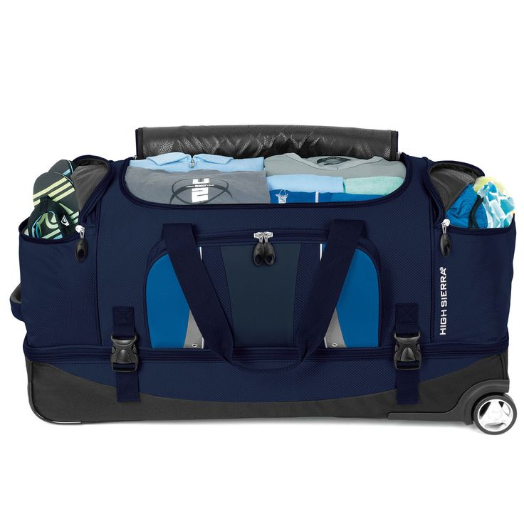"High Sierra Endeavor 34"" Drop-Bottom Wheeled Duffel"