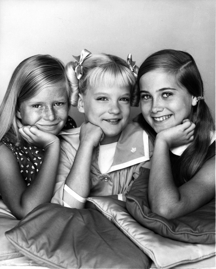 1969 Marsha, Cindy and Jan Brady Bunch