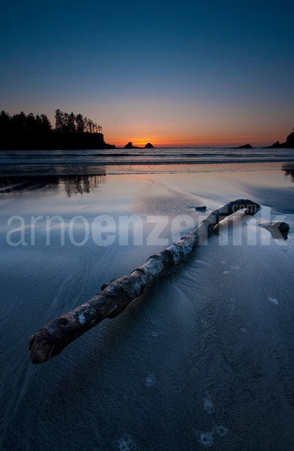 Sunset over Bullards Beach  © Arno Enzerink / www.stockphotography.nu All rights reserved.