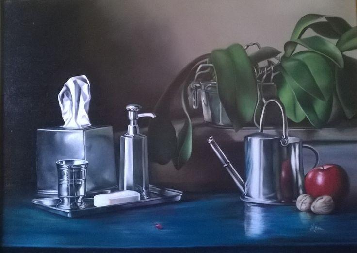 Still life N 207, Oil painting, 60x80 cm 2008