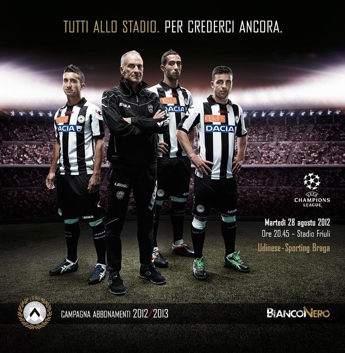 BianconeroVero - campagna abbonamenti udinese calcio - seconda fase