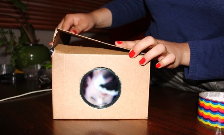 MAKE – DIY $3 smartphone projector (via @Three Thousand)