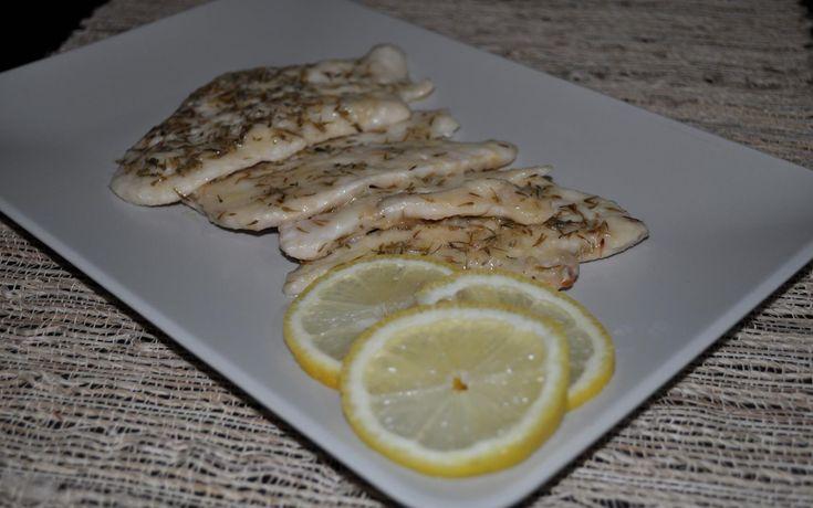 petto di pollo zenzero e limone