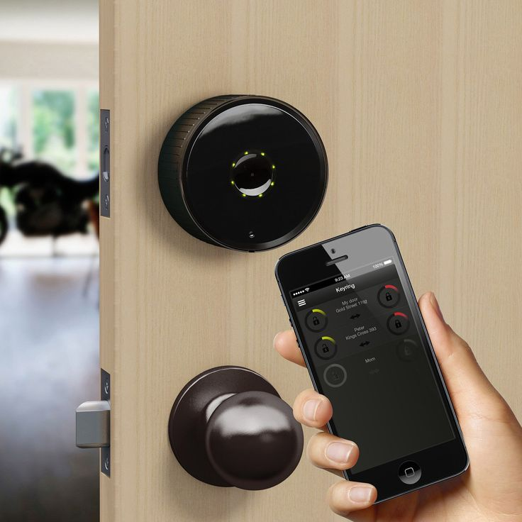 Keep your home secure with help from this Danalock BT100BC Bluetooth smart lock, which allows you to easily lock and unlock your deadbolt-equipped doors without a physical key and features an auto unlock feature that activates when your phone is sensed. Compatible with select Bluetooth-enabled cell phones and tablets, including iOS devices (Apple iPhone 4S or later) and devices with Android 4.4 KitKat or higher for wide-ranging use. Works with most doors and deadbolt locks.
