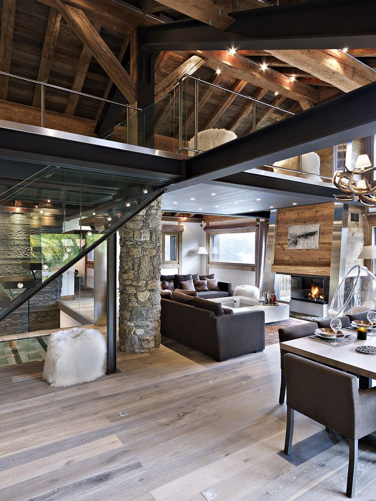 17 best ideas about chalet style on pinterest ski chalet decor chalet interior and rustic. Black Bedroom Furniture Sets. Home Design Ideas