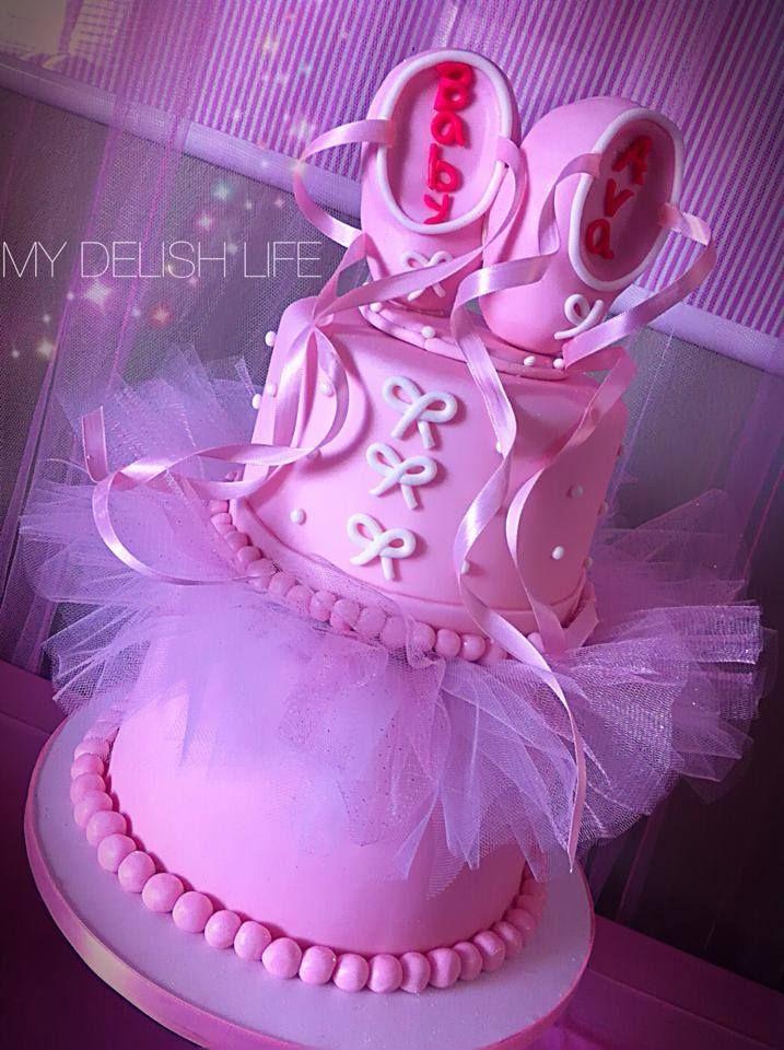 ballet shoe cake baby shower cake ballet baby shower cake ballet cake